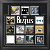 "The Beatles ""U.K. Album Covers"" framed presentation Framed Memorabilia"