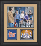 The Brady Bunch 15x17 framed presentation Framed Memorabilia