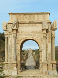 Arch of Septimus Severus, Leptis Magna Roman Ruins, Libya Photographic Print by Gary Cook