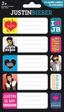 Justin Bieber Label Packs Stickers
