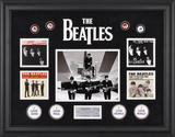 The Beatles On The Ed Sullivan Show framed presentation Framed Memorabilia