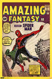 Spider-Man Amazing Fantasy 15 Comic Poster Prints