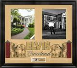 """Elvis Presley """"Graceland"""" framed presentation Framed Memorabilia"""