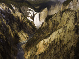 Lower Yellowstone Falls, Grand Canyon of the Yellowstone River, Yellowstone National Park, Wyoming Photographic Print by David Cobb