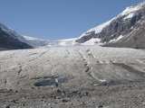 Toe or End of the Athabasca Glacier in the Columbia Icefield, Jasper National Park, Alberta, Canada Photographic Print by Hal Beral