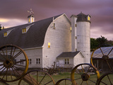 Farm Barn and Silo, Palouse, Washington, USA Photographic Print by Sean Bagshaw