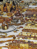 Amber Products for Sale, Vilnius, Lithuania Photographic Print by Gary Cook