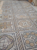 Mosaic at Seaward Baths, Sabratha Roman Ruins, Libya Photographic Print by Gary Cook