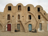 Traditional Ksar, Berber Village, Fortified Granary, Medenine, Tunisia Photographic Print by Gary Cook