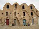 Traditional Ksar, Berber Village, Fortified Granary, Medenine, Tunisia Stampa fotografica di Gary Cook