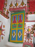 Colourful Door in a Traditional House in Ghadames, Libya Photographic Print by Gary Cook