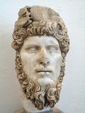 Statue of the Emperor Lucius Verus in the Bardo National Museum, Tunis, Tunisia Stampa fotografica di Gary Cook