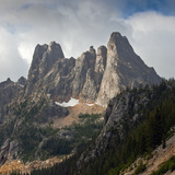 Early Winters Spires, North Cascades Np Photographic Print by Ellen Bishop