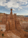 Thor's Hammer and Sandstone Hoodoos in Bryce Canyon National Park, Utah, USA Photographic Print by David Cobb