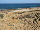 Greek Theatre, Apollonia, Greek and Roman Ruins, Libya Photographic Print by Gary Cook