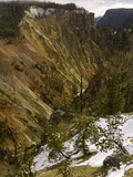 Grand Canyon of the Yellowstone River, Yellowstone National Park, Wyoming, USA Photographic Print by David Cobb