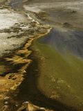 Hot Spring, Black Sand Basin, Yellowstone National Park, Wyoming, USA Photographic Print by David Cobb