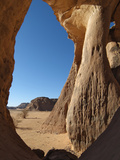 Natural Arch, Jebel Acacus, Sahara Desert, Libya Photographic Print by Gary Cook