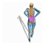 Biomedical Illustration Showing a Person Suffering from Back Pain Giclee Print by Scott Camazine