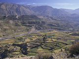 Agricultural Terracing in Colca Canyon, Peru Photographic Print by Gary Cook