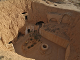 Traditional Troglodyte Homes of Matmata, Tunisia Stampa fotografica di Gary Cook