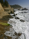 Cape Arago Is a Scenic Headland Jutting into the Pacific Ocean, Oregon, USA Photographic Print by Sean Bagshaw