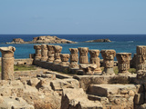 Roman Baths, Apollonia, Greek and Roman Ruins, Libya Photographic Print by Gary Cook