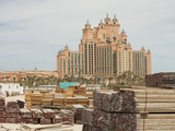 The Atlantis on the Palm a Hyper-Luxury Hotel in an Area of Dubai That Was Reclaimed from the Sea Photographic Print by Ashley Cooper