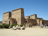 Temple of Isis, Philae, Aswan, Egypt Photographic Print by Gary Cook