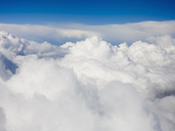 Cumulus Clouds from Above Photographic Print by Ashley Cooper