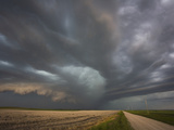 An Approaching South Dakota Supercell Photographic Print by Charles Doswell