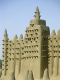 The Great Mosque of Djenne, Mali Fotografisk tryk af Gary Cook