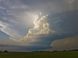 A Supercell Storm Near Oklahoma City, Oklahoma Photographic Print by Charles Doswell