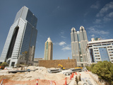 New Buildings and Building Sites in Dubai Photographic Print by Ashley Cooper
