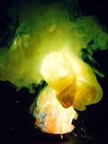 Reaction of Zinc Dust and Flowers of Sulfur Lámina fotográfica por Philip Evans