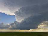 Tornadic Supercell in Badlands, South Dakota Photographic Print by Charles Doswell