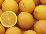 Sweet, Juicy Oranges (Citrus Sinensis) Photographic Print by Wally Eberhart