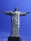 Statue of Cristo Redentor, Christ the Redeemer, Corcovado, Rio De Janeiro, Brazil Photographic Print by Gary Cook