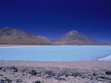 Laguna Verde and Licancabur Volcano, Altiplano, Bolivia Photographic Print by Gary Cook