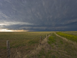 An Approaching Supercell in the Nebraska Panhandle, USA Fotodruck von Charles Doswell