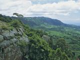 Elgeyo Escarpment and the Rift Valley, Near Kabarnet, Kenya Photographic Print by Gary Cook