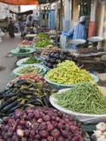 Market of Kharga Oasis, Libyan Desert, Egypt Photographic Print by Reinhard Dirscherl