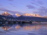 Sunset over Ushuaia, Tierra Del Fuego, Argentina Photographic Print by Gary Cook