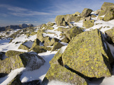 The Scafell Range from Crinkle Crags in the Lake District, UK Photographic Print by Ashley Cooper