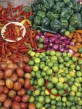 Fruit Market, Otavalo, Ecuador Fotografie-Druck von Gary Cook
