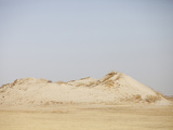Sand Dune in the Desert of Inner Mongolia, China, an Area Affected by Lengthy Drought Photographic Print by Ashley Cooper
