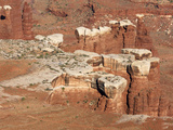 Canyonlands National Park, Grand View Overlook, White Rim Photographic Print by John Cornell