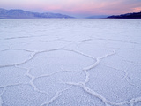 Salt Flats at Badwater, Death Valley National Park, California Photographic Print by Clint Farlinger