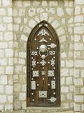 Ornate Door, Timbuktu, Mali Fotografisk tryk af Gary Cook