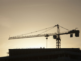Construction Crane Photographic Print by Ashley Cooper